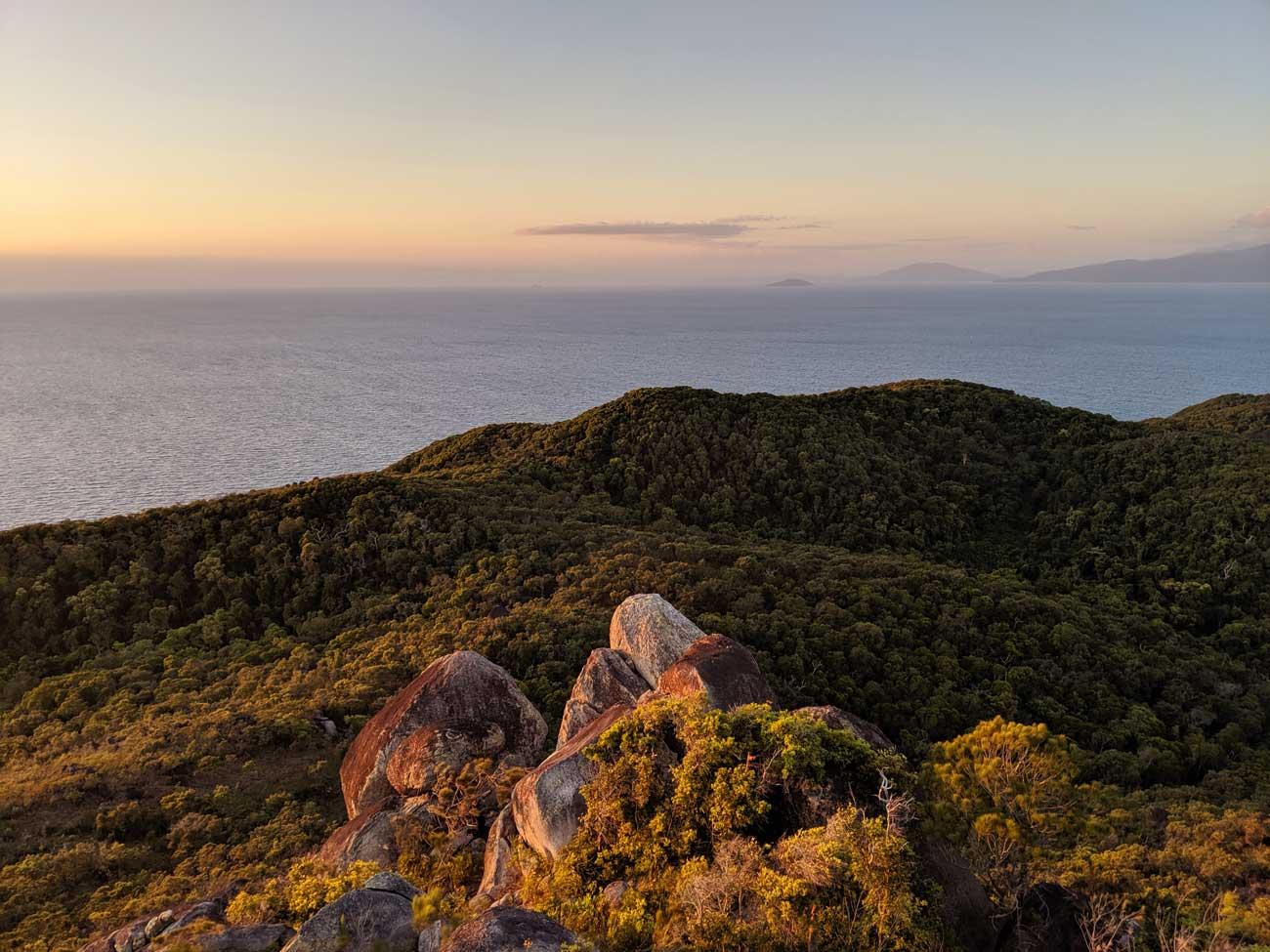 Fitzroy Island Lever Soleil Rando