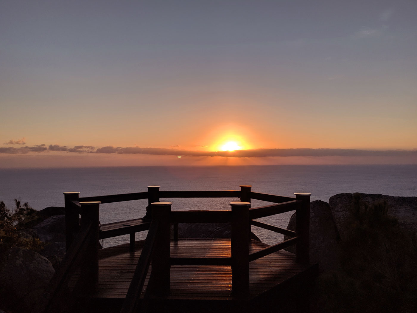 Fitzroy Island Lever Soleil Sommet Rando