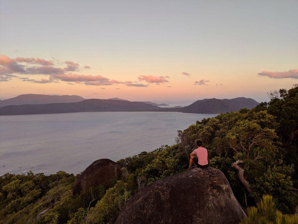 Fitzroy Island Sommet Lever Soleil