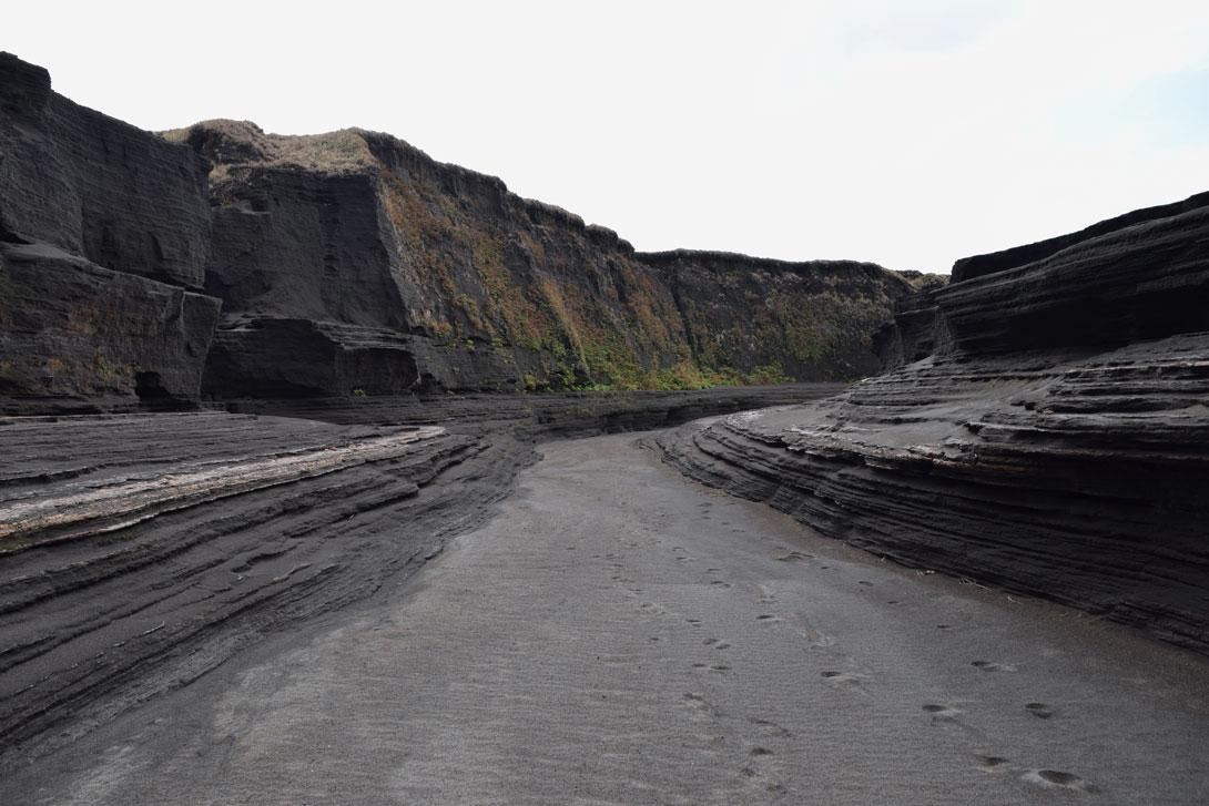 Canyon Volcan Yasur Tanna Vanuatu
