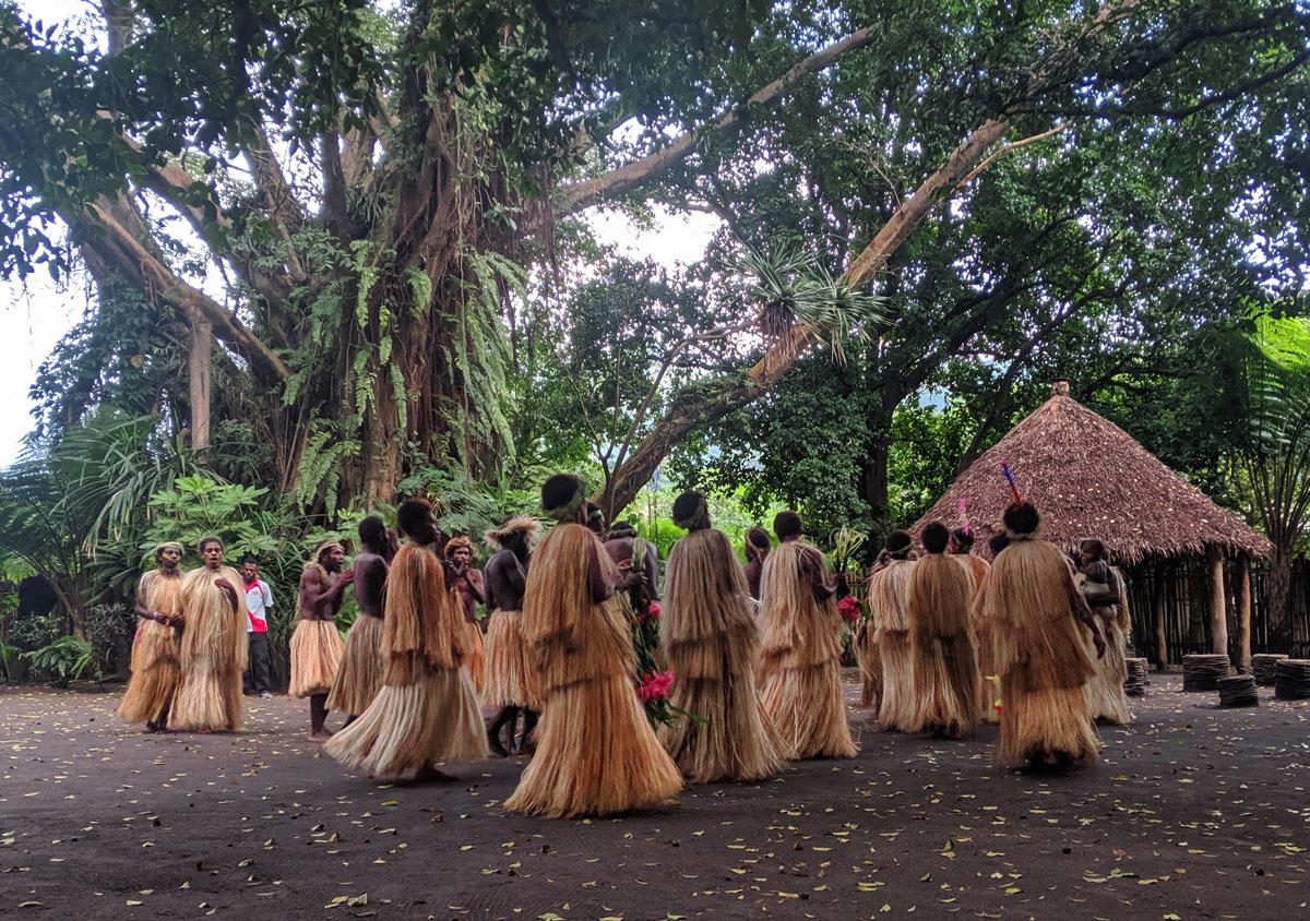 Danse traditionnelle Vanuatu