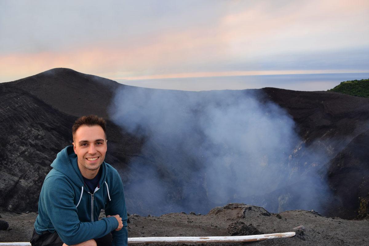 Sommet Volcan Yasur