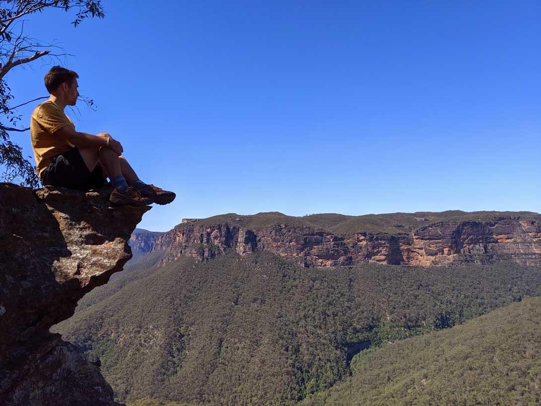 Vue sur les Blue Mountains - Rando Grand Canyon Blue Mountains