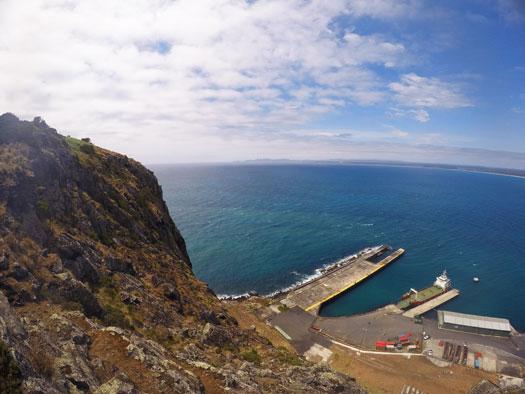 Port de pêcheur de Stanley