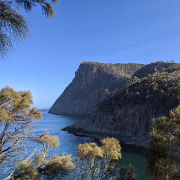 Randonnée au Fluted Cape