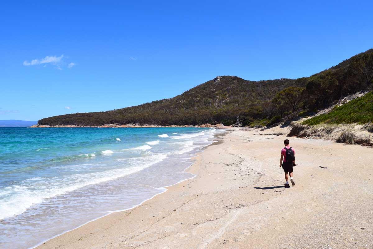 Randonnée sur le Wineglass Bay et Hazards Beach circuit