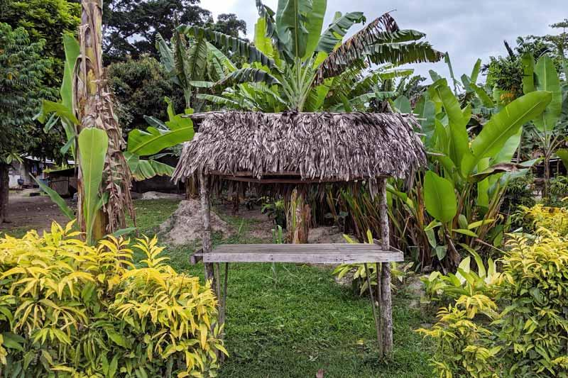 Sur le chemin du Secret Garden à Port Vila