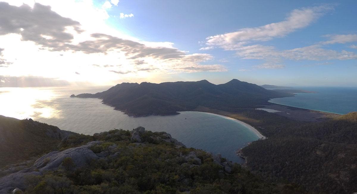 Lever de Soleil sur Wineglass Bay