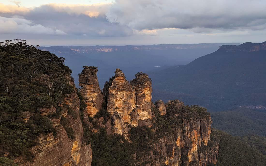 Point de vue des Three Sisters à Katoomba