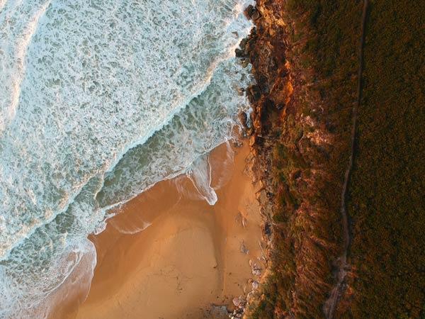 Lever de Soleil sur Tallow Beach