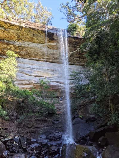 Base de la cascade National Falls