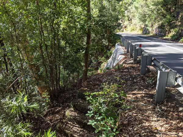 Accès et chemin secret à la NAtional Falls via Mckell Avenue