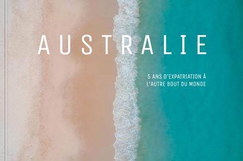"""Couverture de l'album photos """"Australie"""" fait via le site Colorland"""