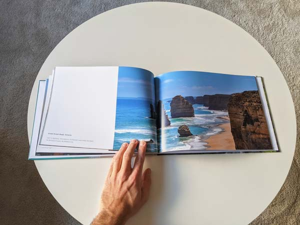 Album Photo Colorland entrouvert - Livre Photo Classique format A4 code promo