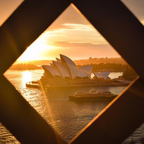 Souvenir de voyage à Sydney