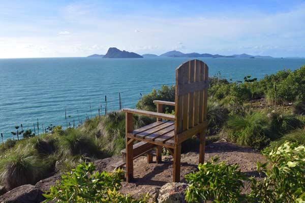 Chaise géante de South East Head