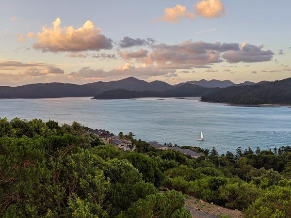 Coucher de Soleil à One Tree Hill sur Hamilton Island
