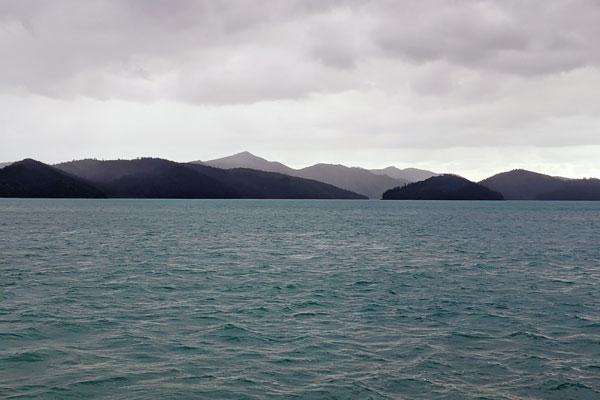 Trajet en bateau au cœur de l'archipel des Whitsundays