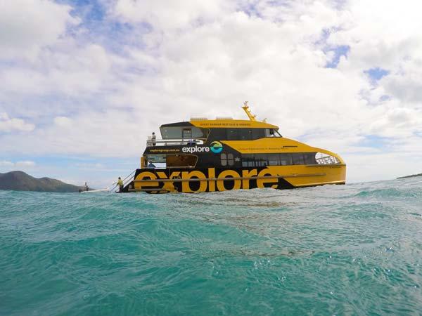 Le bateau du tour opérateur Explore Group