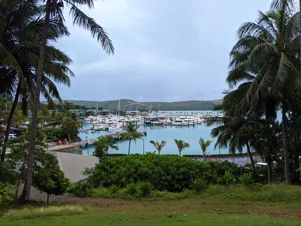 La marina de Hamilton Island et tous ses bâteaux