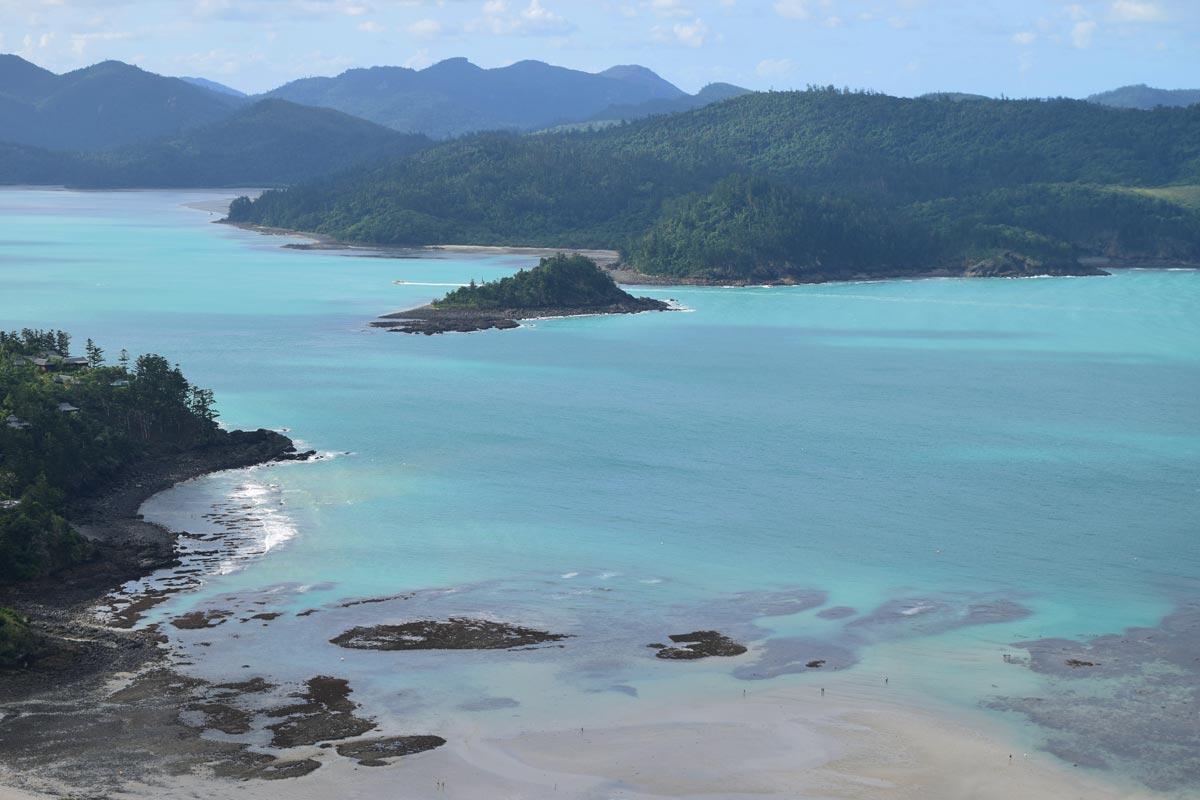 Vue de Catseye Beach depuis le Resort Lookout