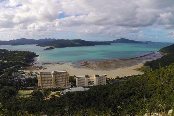 Point de vue au Resort Lookout
