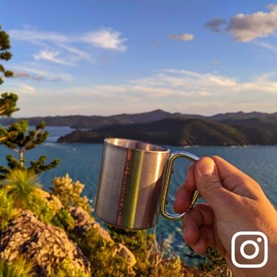Coffee Cup Passage Peak Instragram Exploring Paw